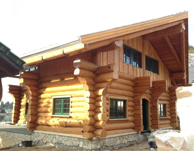 blockhaus und naturstammhaus midsummer cottage ii mehrer blockhaus. Black Bedroom Furniture Sets. Home Design Ideas