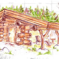 sauna gem tlich holzsauna bauen und individuell gestalten mit ihrem fachmann aus bad d ben in. Black Bedroom Furniture Sets. Home Design Ideas