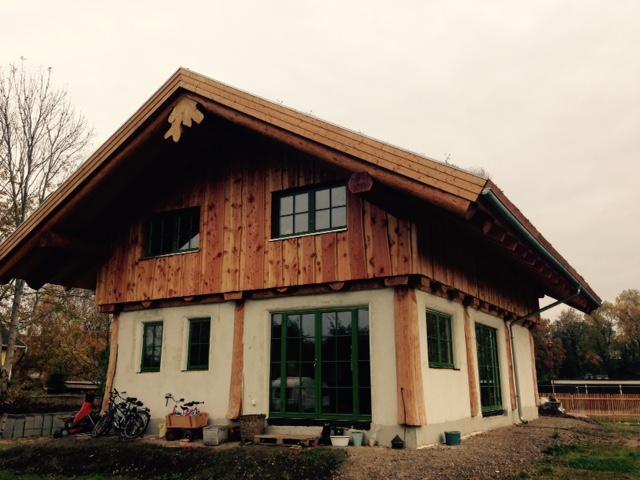Pin naturstammhaus rundstammhaus fichte picea abies weißholz on