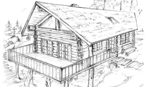 blockhaus und naturstammhaus midsummer cottage ii. Black Bedroom Furniture Sets. Home Design Ideas